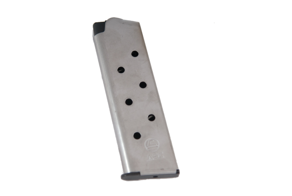 ASC 1911 45acp Stainless Steel 8rd mag