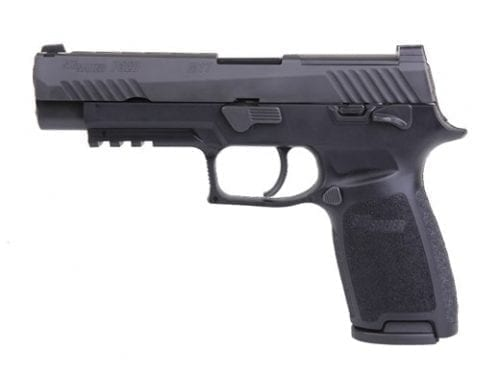SIG Sauer P320 M17 Bravo 9mm Manual Safety