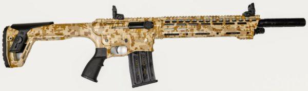 Panzer Arms AR-12 Shotgun AR Twelve 12ga Desert Camo
