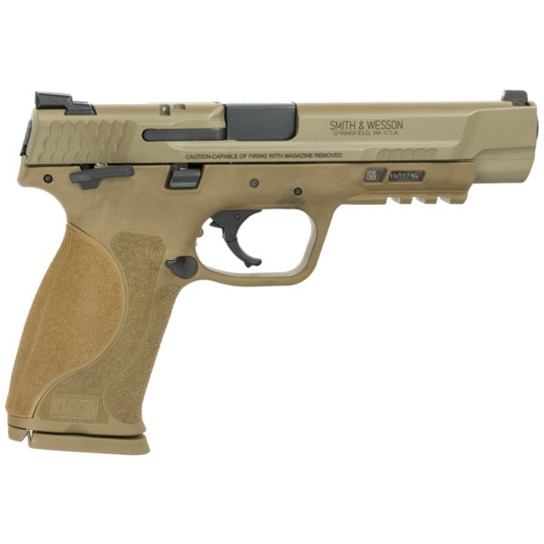S&W M&P M2.0 40SW 5″ FDE Thumb Safety