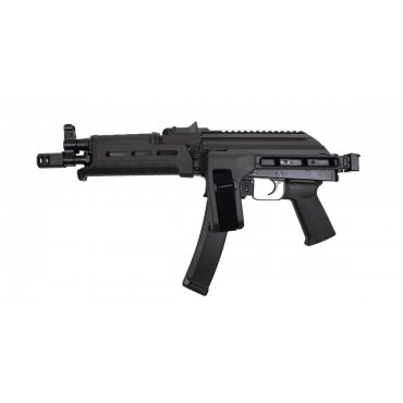 PSA AK-V SIDE FOLDING 9MM MOE PISTOL, BLACK - 5165458517