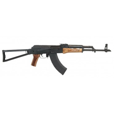 PSAK-47 GF3 FORGED NUTMEG WOOD TRIANGLE SIDE FOLDING RIFLE WITH CHEESE GRATER UPPER HANDGUARD