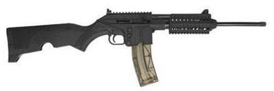 Kel-Tec SU 22 Semi-Auto Rifle SU22C, 22 Long Rifle, 16.1 in, Folding Stock, Black Finish