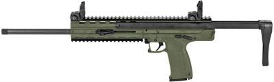 Kel-Tec Carbine CMR3GRN0, 22 WMR, 16.1 in, Adjustable Stock, OD Green Finish, 30 Rd