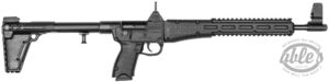 "Kel-Tec SUB-2000 Semi-Auto Rifle SUB2K9GLK19BBLK, 9mm, 16.1"", Black Synthetic Stock, Black Finish, 15 Rd"