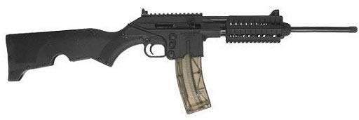 Kel-Tec SU 22 Semi-Auto Rifle SU22CA, 22 LR, 16.1 in, Semi-Auto, Black Syn Stock, Black Finish, 27 Rds