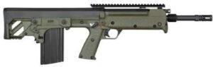 Kel-Tec RFB Forward-Ejection Bullpup Rifle RFB18GRN, 7.62x51mm NATO, 18 in, Green Syn Stock, Black Finish, 20 Rd