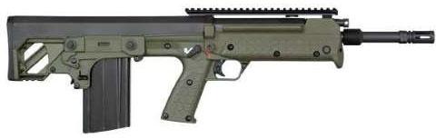 Kel-Tec RFB Forward-Ejection Bullpup Rifle RFB24GRN, 7.62x51mm NATO, 24 in, Green Syn Stock, Black Finish, 10 Rd