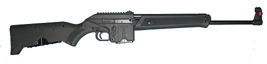 "Kel-Tec Sport Utility Rifle SU16, 223 Remington/5.56 NATO, 16"", Synthetic Stock, Black Finish"